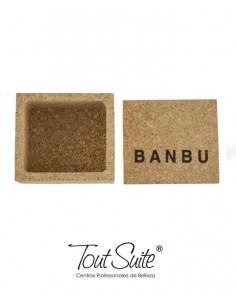 BANBU Caja de corcho cosmética sólida